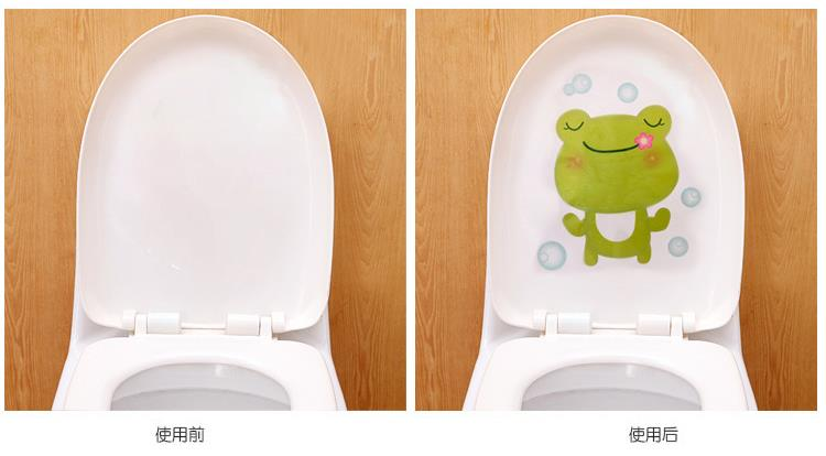 Toilet Seat Sticker Art Wall Decals Bathroom Decoration