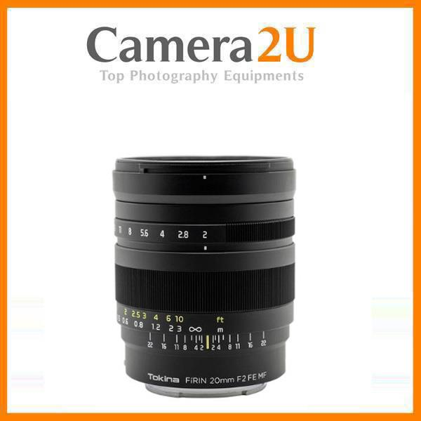 Tokina FiRIN 20mm f/2 FE Manual Focus Lens for Sony E