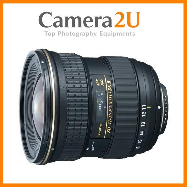 NEW Tokina AT-X 116 PRO DX 11-16mm F/2.8 II Lens For Canon(Version II)