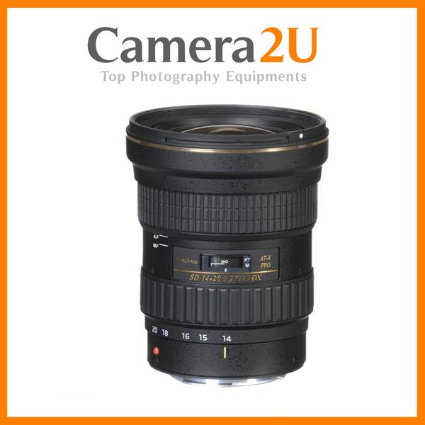 NEW Tokina AT-X 14-20mm f/2 PRO DX Lens for Canon Mount