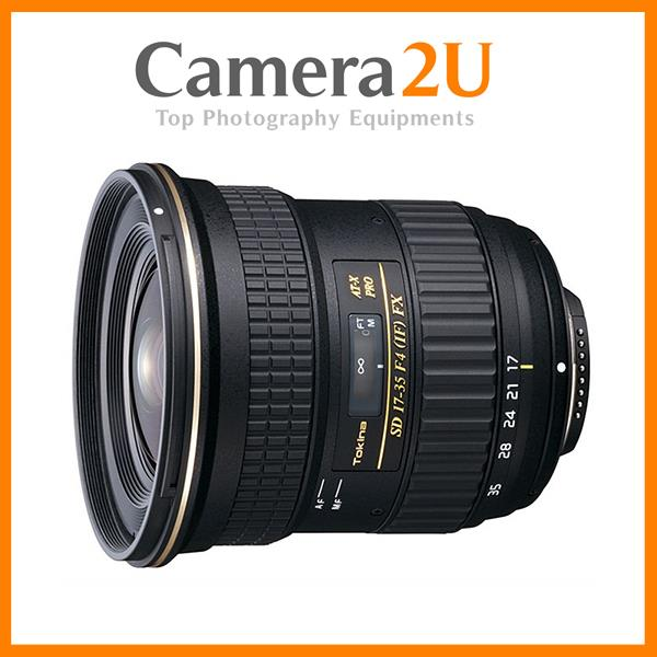 NEW Tokina AT-X 17-35mm F4 Pro FX for Canon