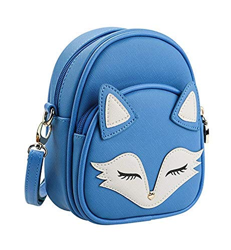 ~ Tom Clovers Womens Girls Mini Cute Sleeping Fox Handbag Cross Body Shoulder