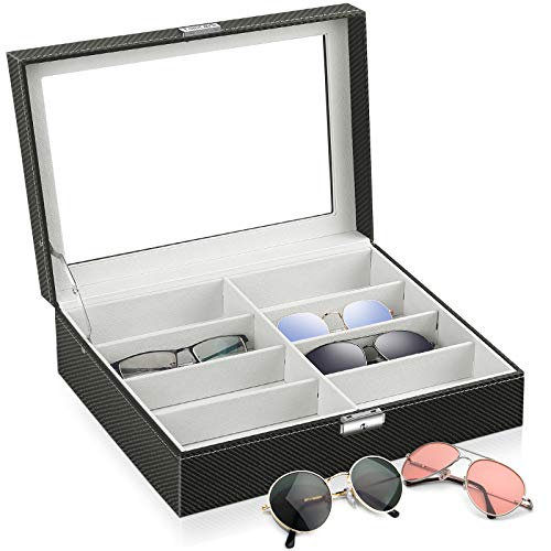 TomCare Sunglasses Organizer Sunglasses Case Sunglass Glasses Holder Storage B