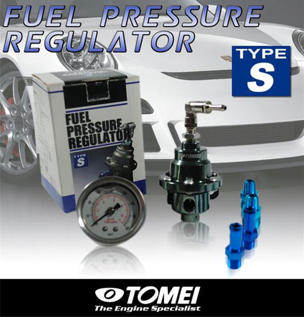TOMEI TYPE-S Fuel Regulator with Pressure Meter