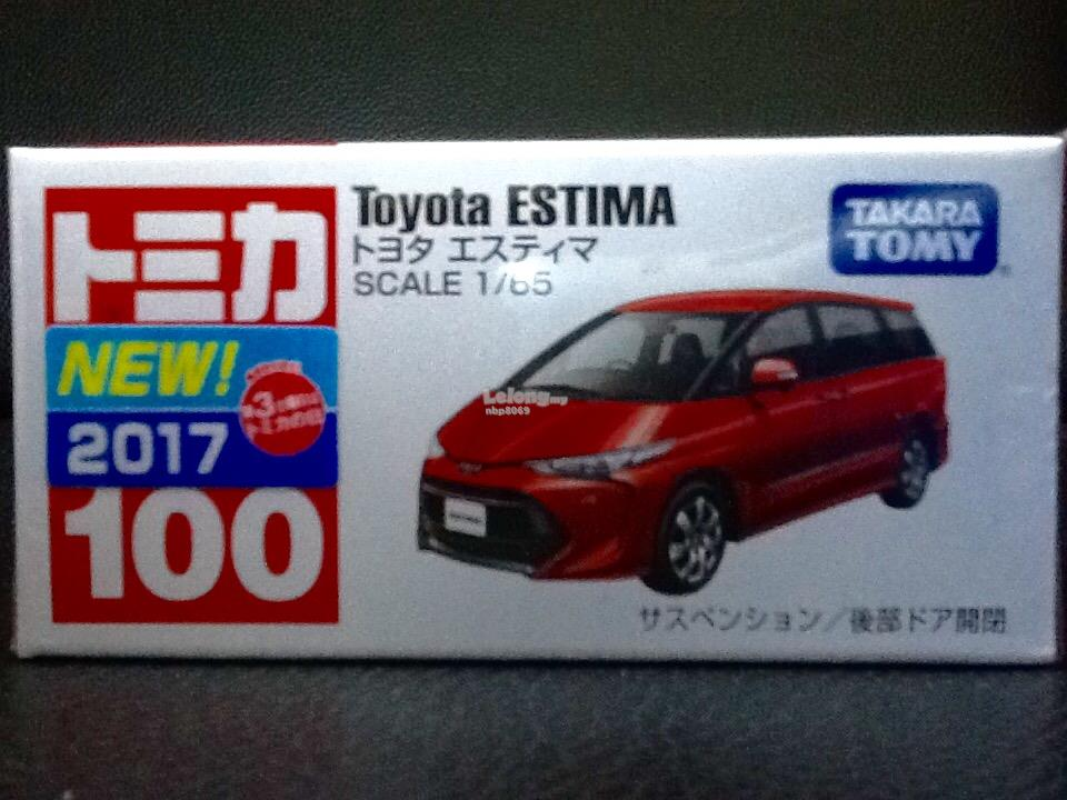 Tomica No. 100-7: Toyota Estima (First Batch)