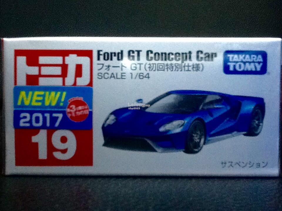 Tomica No. 19-8: Ford GT Concept Car (First Limited Color)