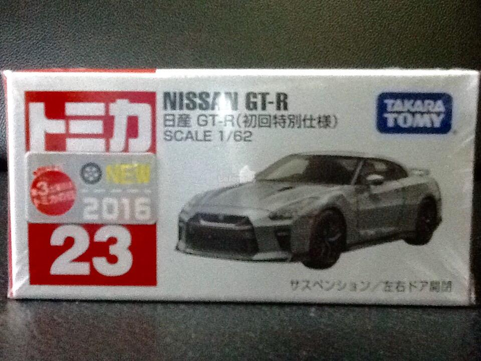 Tomica No. 23-10: Nissan GT-R (First Limited Color)