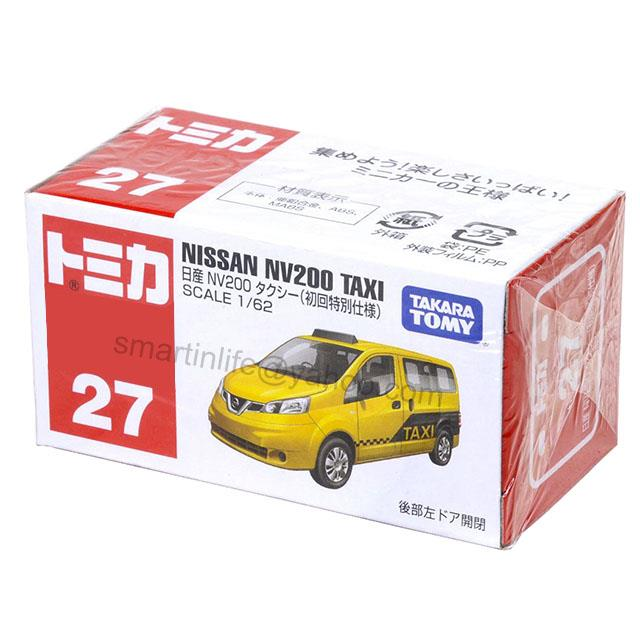 Tomica No.27 Nissan NV200 Taxi (First Special Specification)