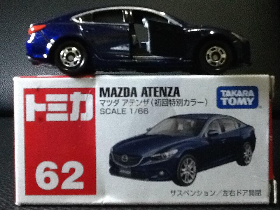 Tomica No. 62-9: Mazda Atenza (Limited Color)