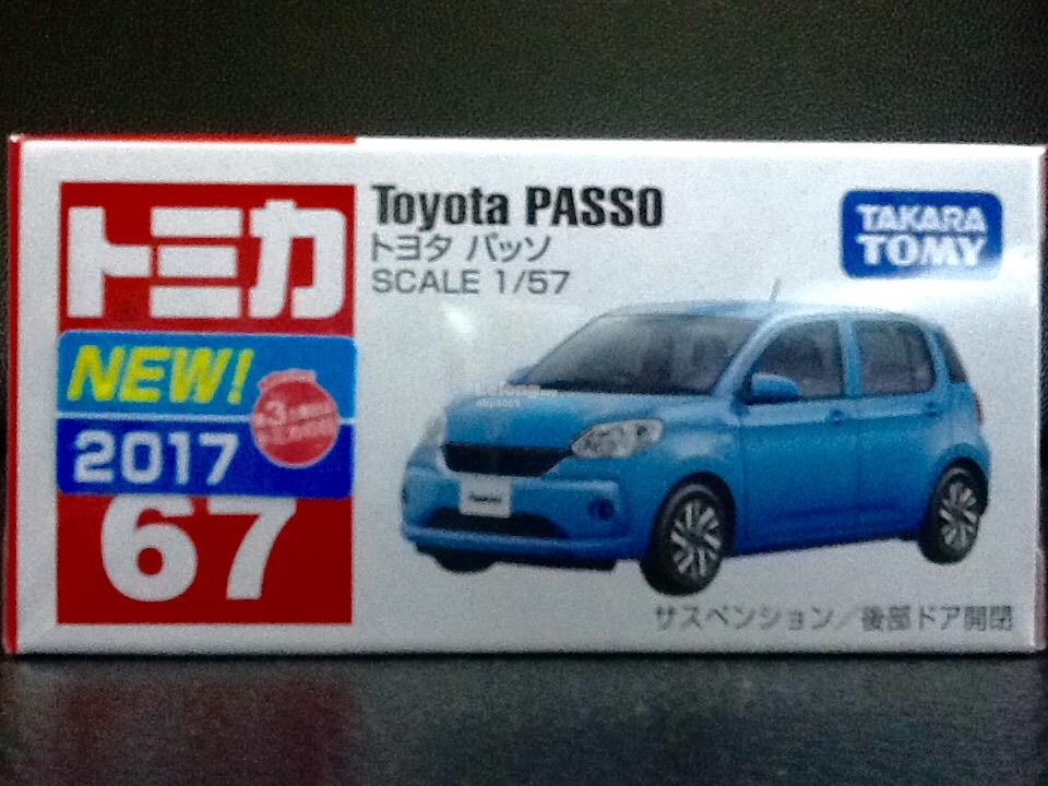 Tomica No. 67-8: Toyota Passo (First Batch)