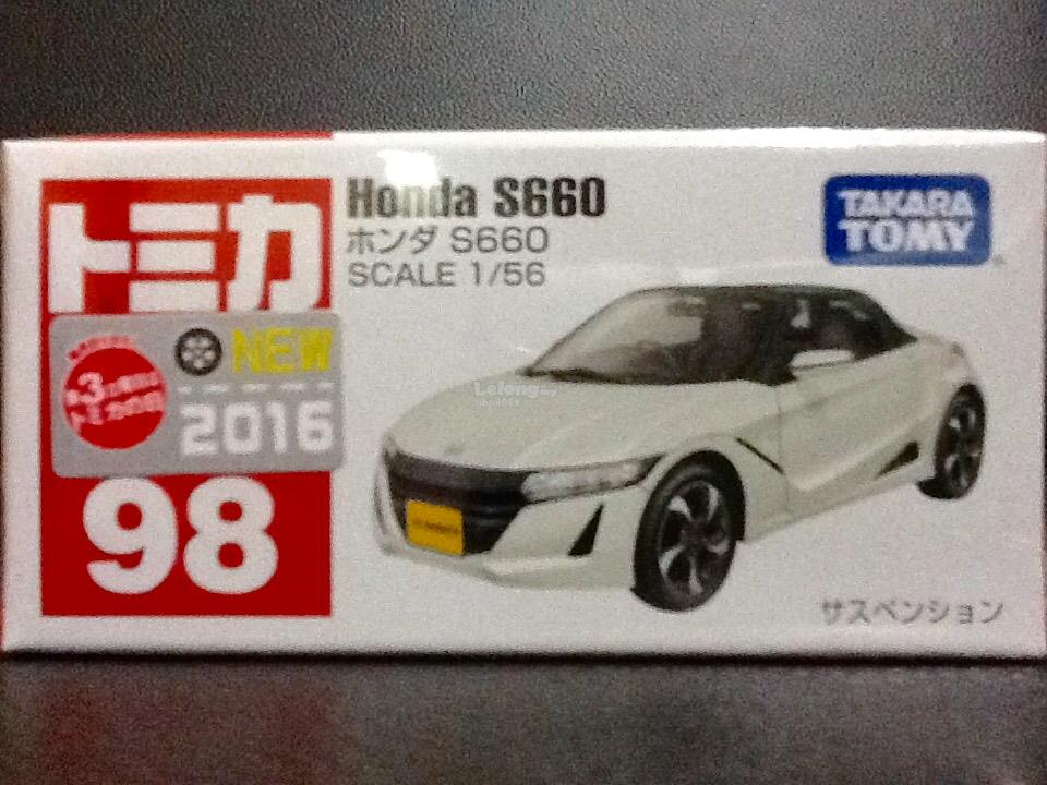 Tomica No. 98-8: Honda S660 (First Regular Color)
