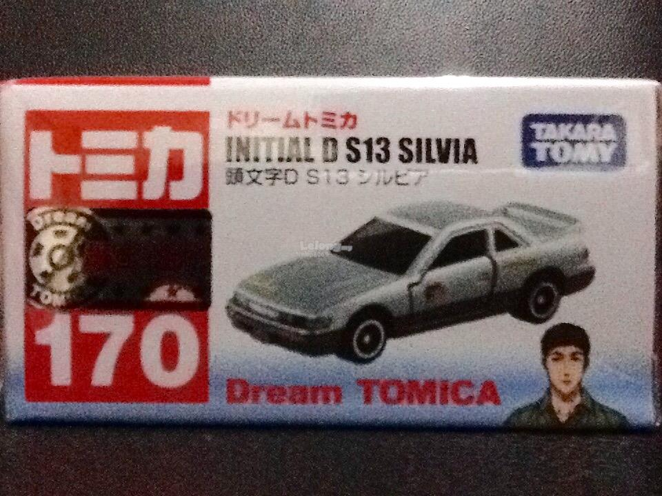 Tomica Dream 170: Initial S S13 Silvia
