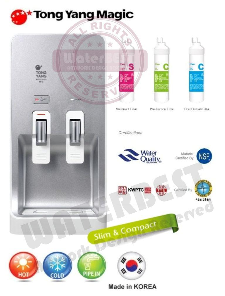 Tong Yang PREMIUM Water Dispenser NANO Alkaline System HOT & COLD