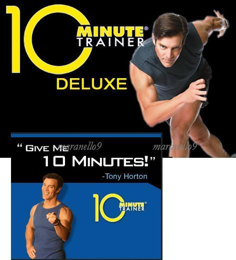Tony Horton's 10 Minute Trainer Workout Home System by Beachbody