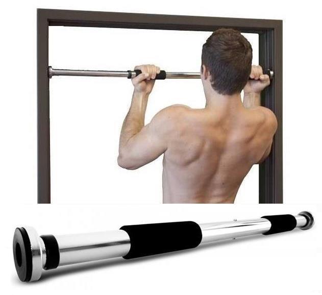 Top Grade Iron Pull Up Door Gym Chin Bar Doorway Exercise Fitness