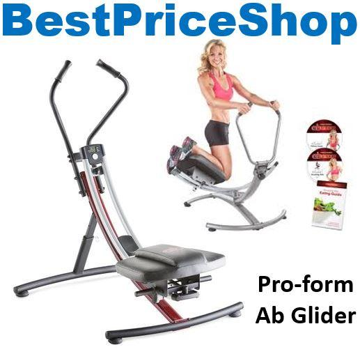 Top Grade Proform Ab Glider Platinum Six 6 Packs Abs Fitness Fat Burn