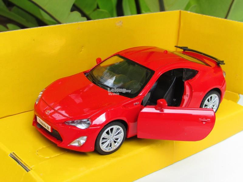 Top Mark (5') 1/34 Diecast Car Toyota 86 (Red)