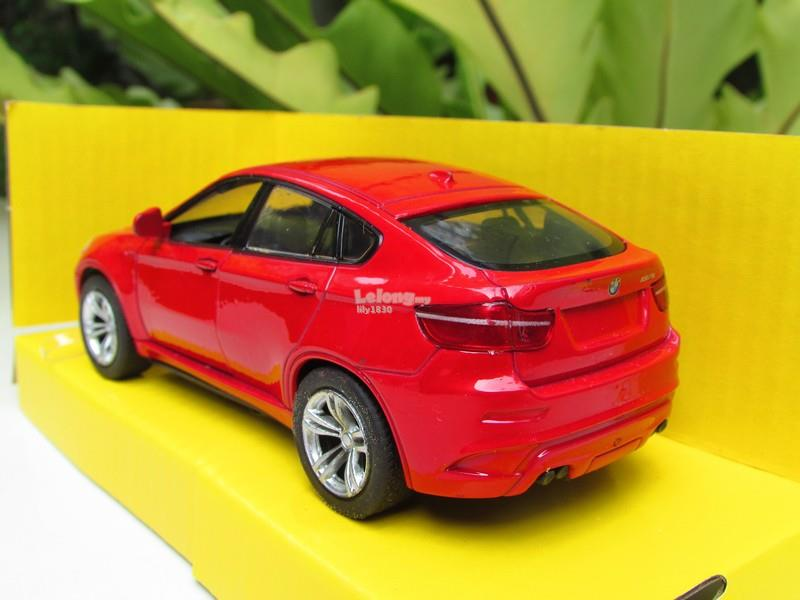 Top Mark (5') 1/38 Diecast Car BMW X6 M (Red) Light/Sound