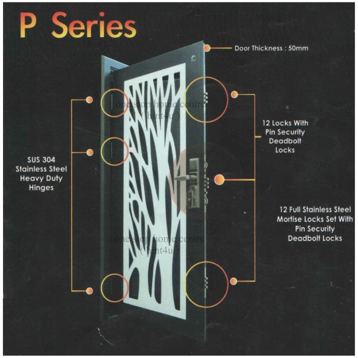 Top Security Door P1 Series 3.5'ft( (end 6/13/2021 10:15 AM)