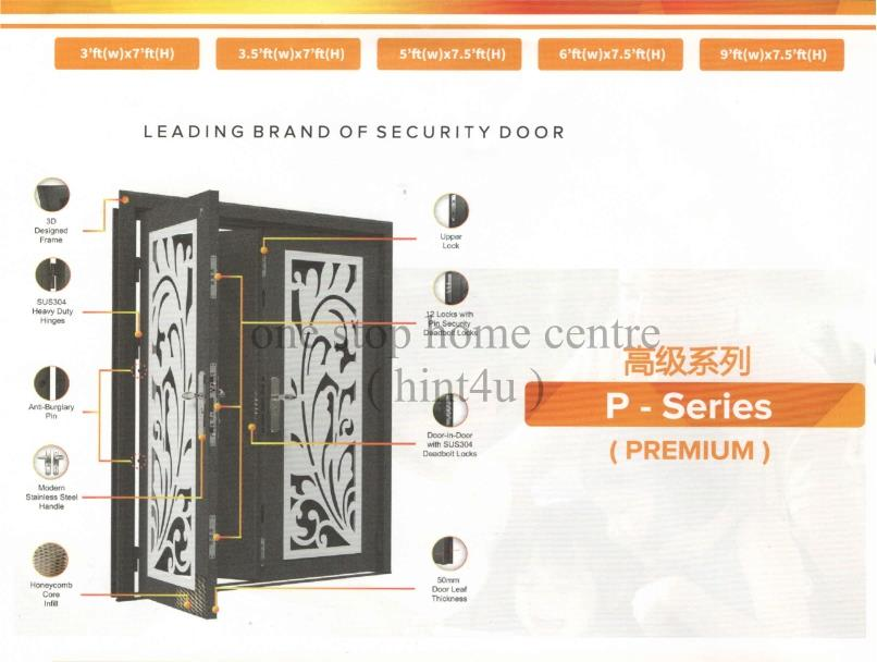 Top Security Nature Door P4 Series (end 11/17/2021 3:15 PM)