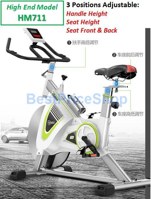 New Top Specs Iron Spinning Bicycle Slim Cycling Exercise Bike HM-711
