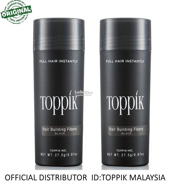 TOPPIK DOUBLE FIBER 27.5G ECONOMY SIZE FOR HAIR LOSS
