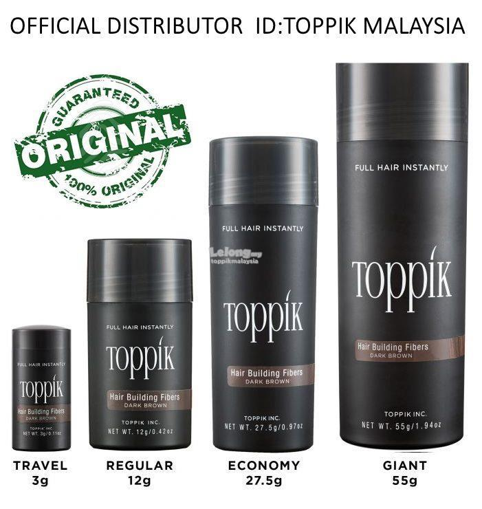 Toppik (hair loss, hair tonic, shampoo,syampu,hair growth grow serum