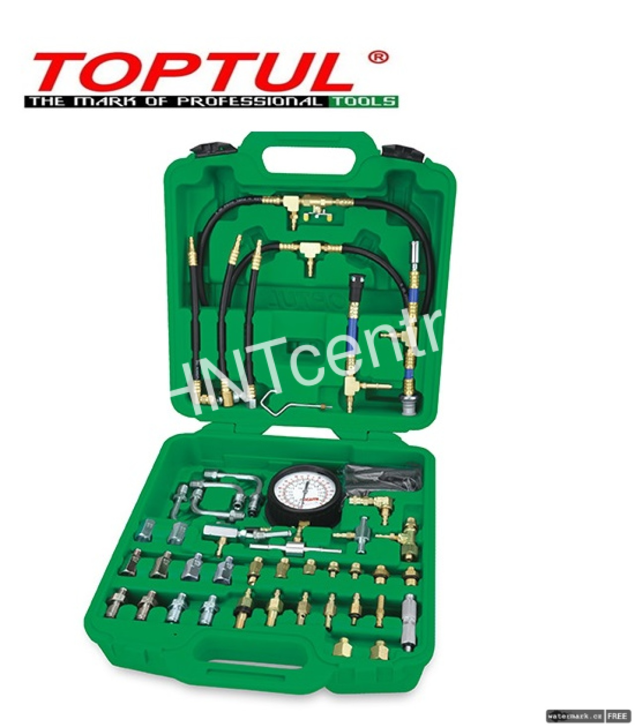 TOPTUL 81PCS Gasoline Engine Fuel Injection Pressure Tester JGAI8101