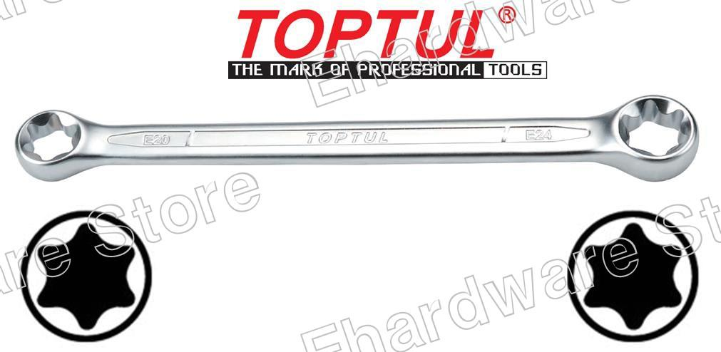 TOPTUL DOUBLE END E-TORX WRENCH (AAEE)