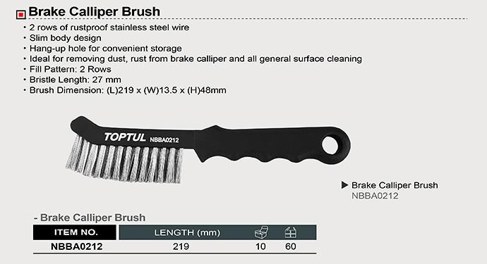 TOPTUL NBBA0212 Brake Calliper Brush