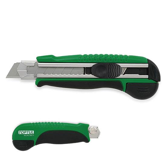 TOPTUL SCAC1817 Auto Reload Utility Knife (W/Spare Blade)
