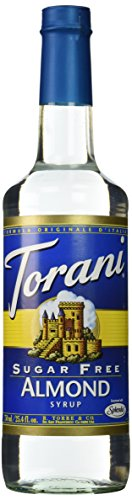 Torani Sugar Free Almond Syrup 750mL
