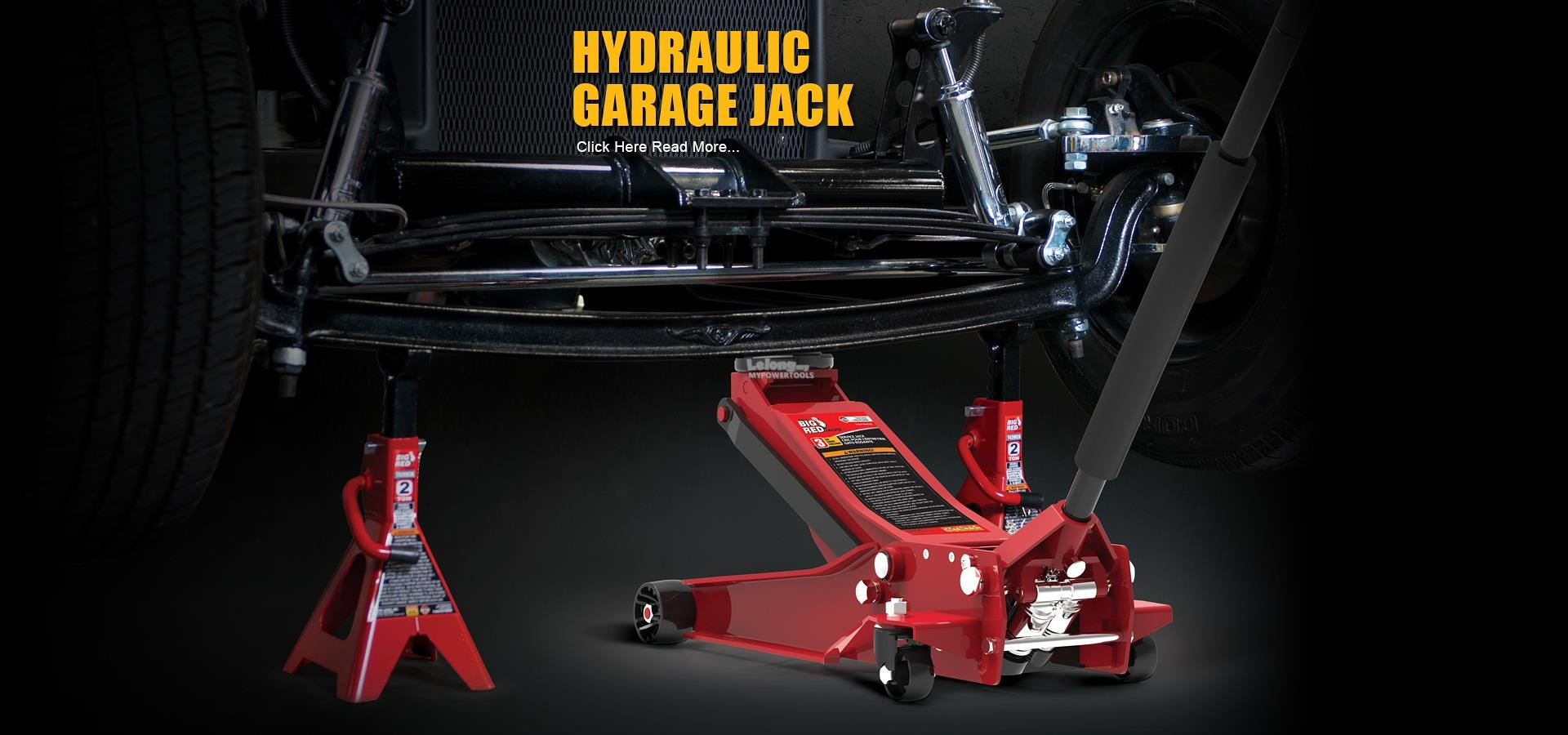 Torin 3.5Ton HD Twin Pumps Low-Profile Garage Services Jack