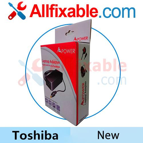 Toshiba 15v 5a 6.3x3.0 Satellite R10 R15 R20 R25 U200 Adapter Charger