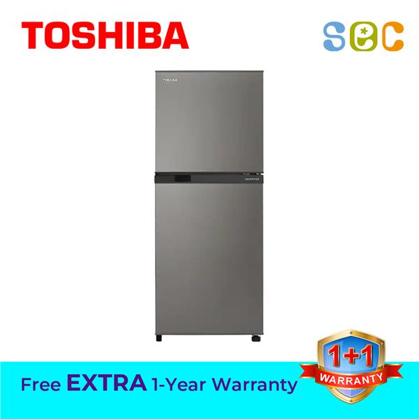 TOSHIBA 2-DOOR 290L INVERTER FRIDGE, GR-A28MS/DS
