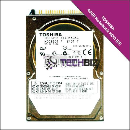 Toshiba 40GB IDE Notebook Hard Disk Drive
