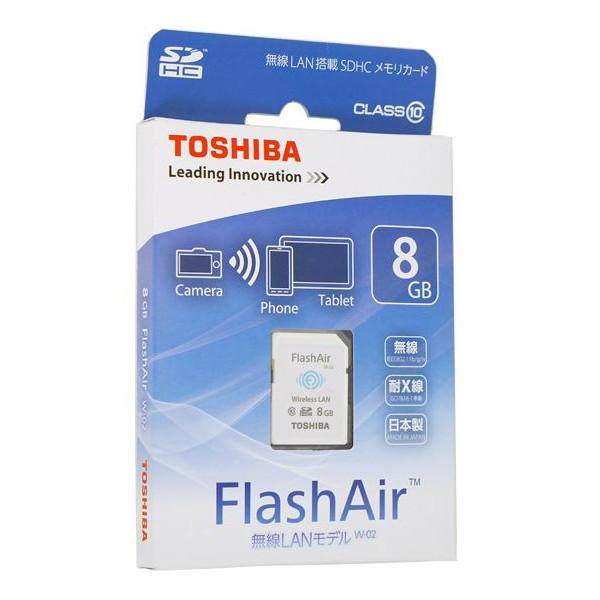 TOSHIBA FLASHAIR 8GB SD SDHC CLASS 10 WIFI MEMORY CARD