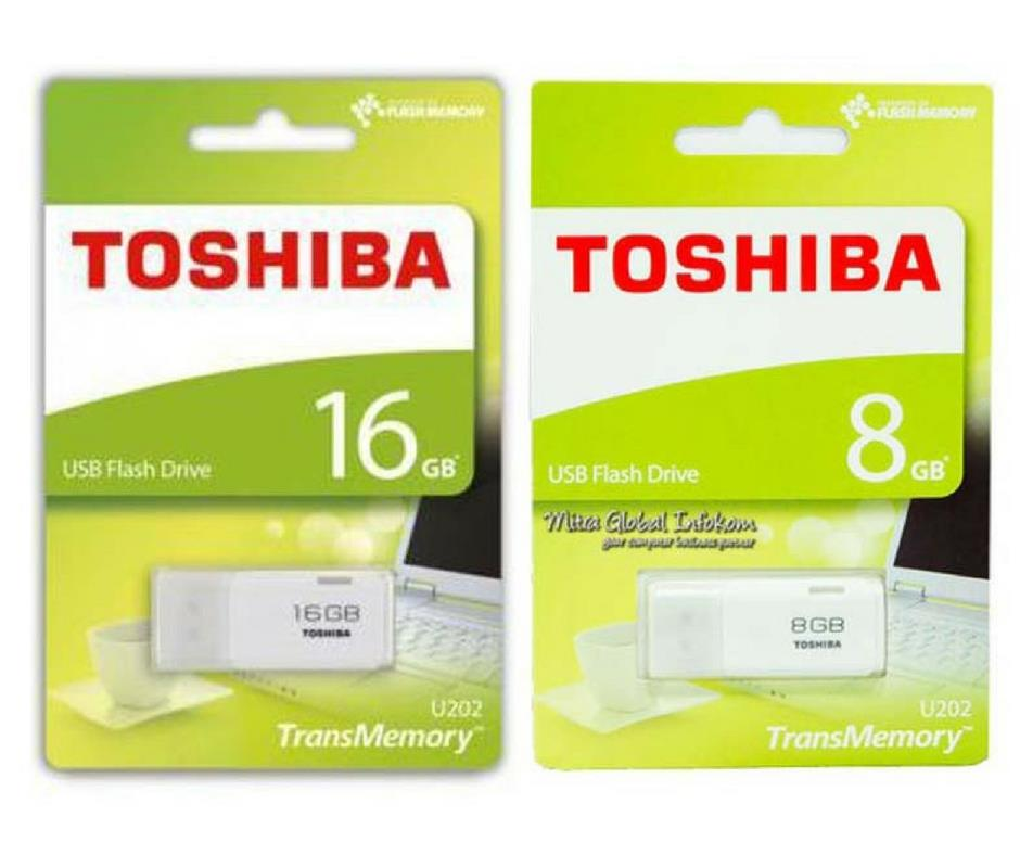 Toshiba Hayabusa 64GB/32GB/16GB/8GB USB Flash Drive/Pendrive