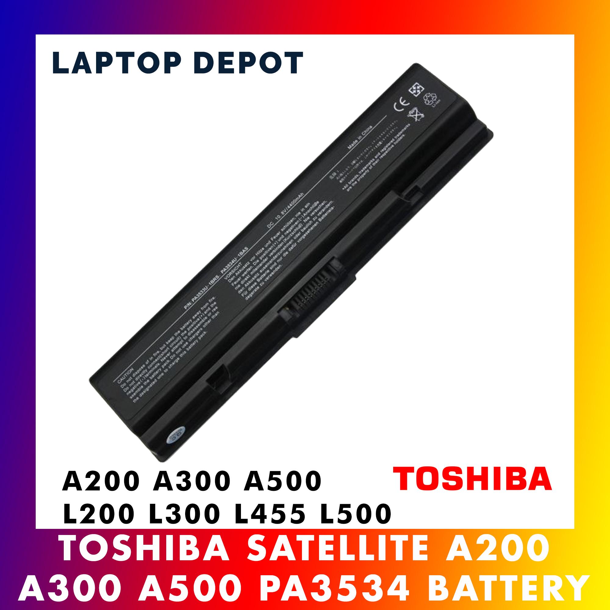 Toshiba Satellite A200 A300 A500 L200 L305 L505 L555 L350 L450 Battery