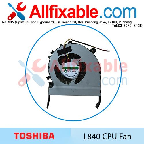 For Toshiba Satellite C845-S4230 CPU Fan