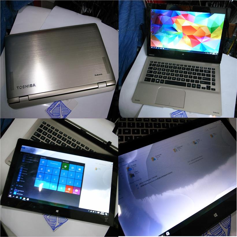 Toshiba Satellite Click i3 4rd Gen 4GB 500GB Touch Table 2 in 1 Rm580