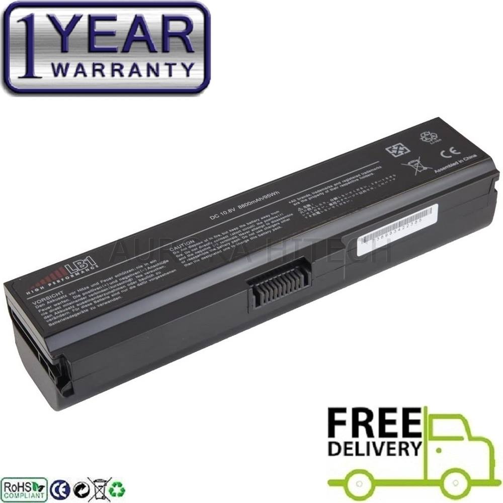 Toshiba Satellite L311 L312 L315 L317 L322 L323 L510 7800mAh Battery