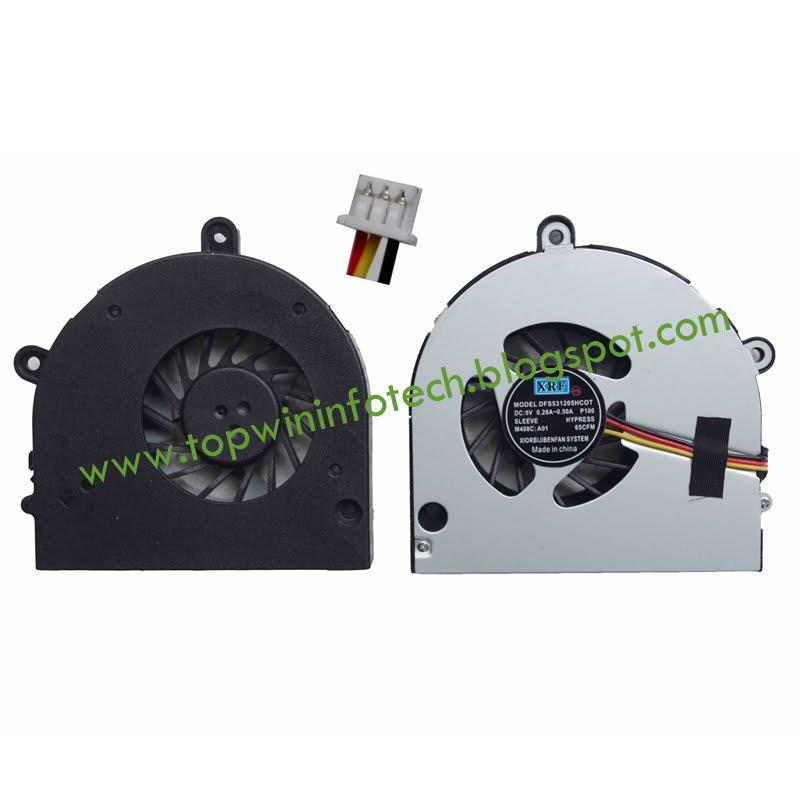 TOSHIBA SATELLITE P750 P750D P755D L670 C6600 P775 A665 COOLING FAN