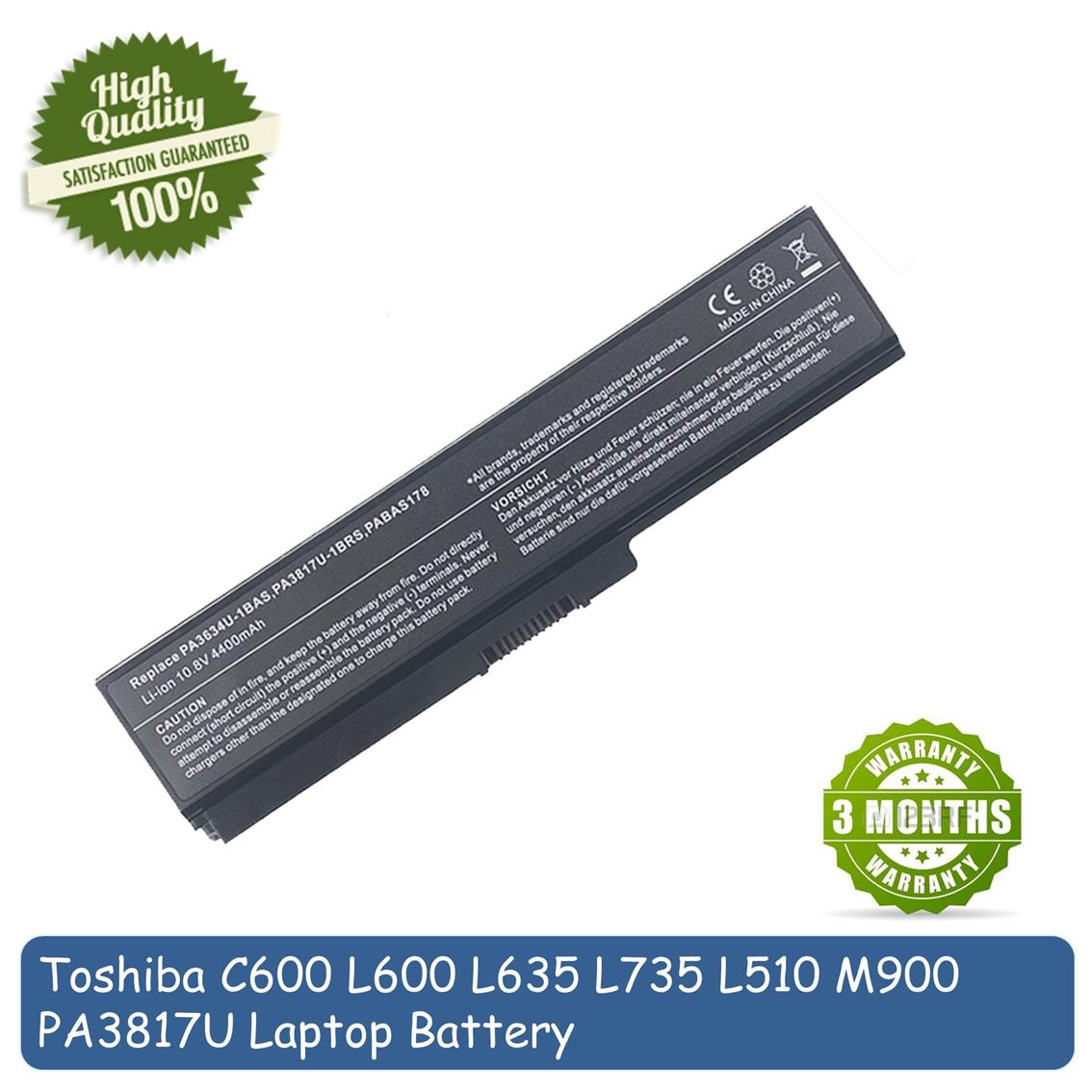 Toshiba Satellite PA3817 PA3817U L740 L745 L745D L775 Laptop Battery