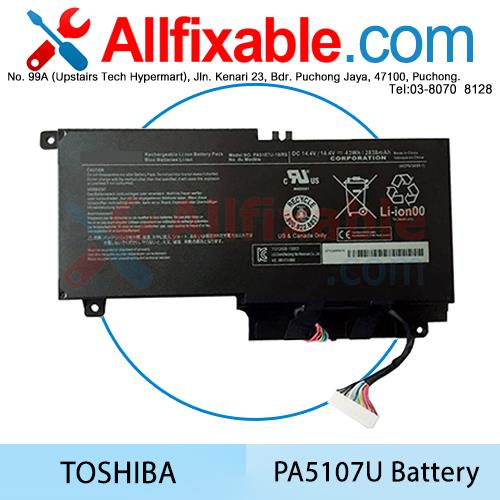 Toshiba Satellite PA5107 S55 S55-A S55T S55T-A Laptop Battery