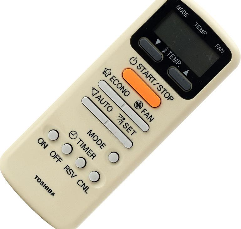 TOSHIBA Toshiba air conditioner remote control WH-E1NE replaces WC-E1N