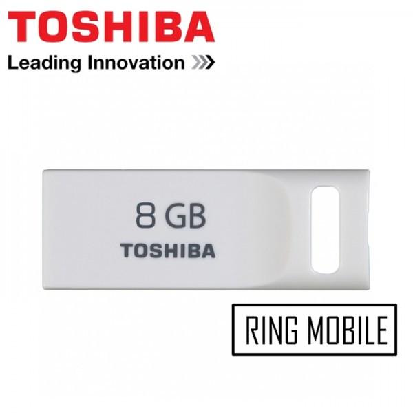 Toshiba TransMemory Mini Suruga USB 2.0 Flash Drive - 8GB - Original