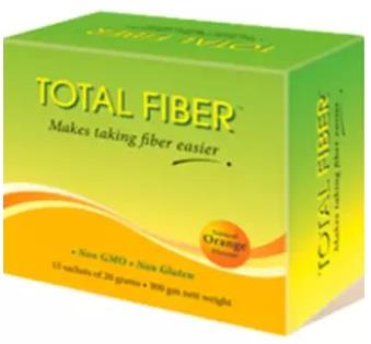 Total Fiber Natural Orange Flavour (15's)