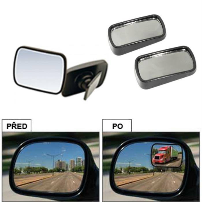 Total View 360 Degree Blind Spot Mirror - Set of 2:Car Accessories