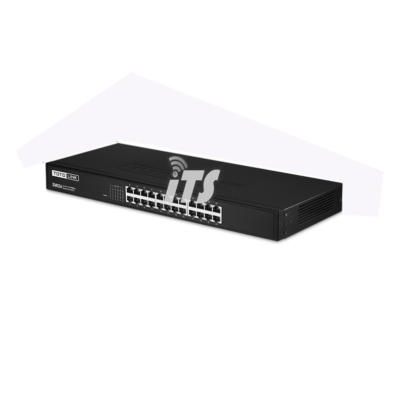 TOTOLINK 24 Port 10/100 Rackmount Switch (SW24)
